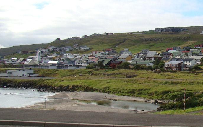 Elsti partur á Argjum er við skúlan og út á Argjaboða. (Mynd Vagnur)