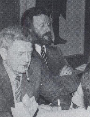 Mortan Mørk og Hans Holm tveir altíð trúgvir neistalimir.