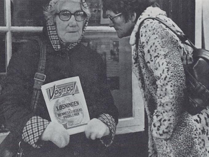 Mynd av Ingrid Joensen stendur í myndinabókini Tórshavn frá 1976.