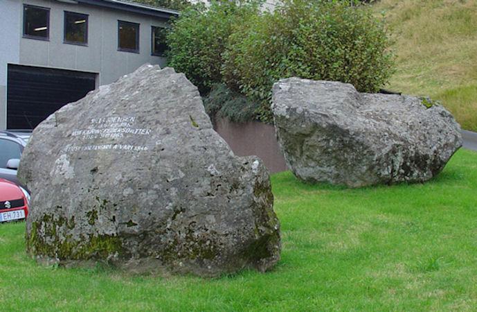 Eg rokni ikki við, at nakar torir at beina burtur íbygdu steinarnar. (Mynd Vagnur)
