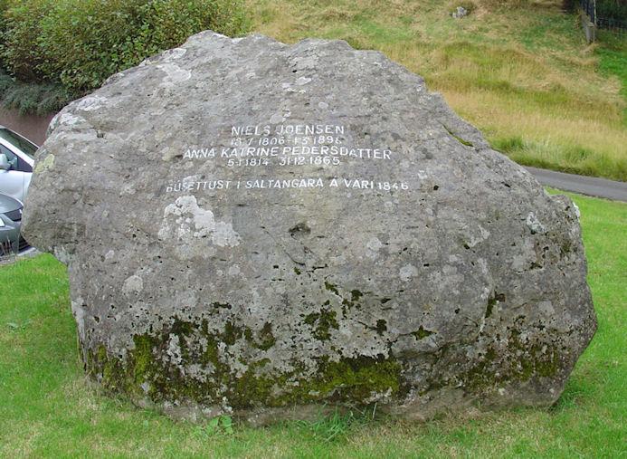 Tey settu búgv í Saltangará í 1846. (Mynd Vagnur)