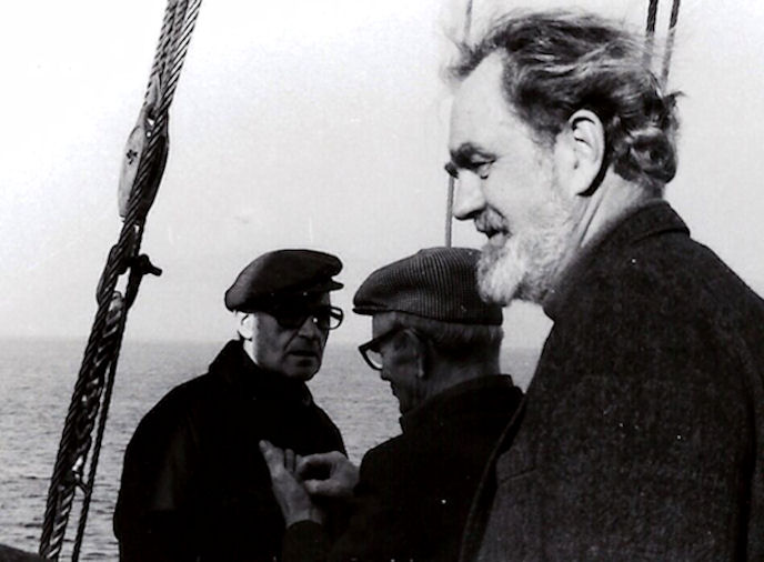 """Petur var mettur sum """"kongurin"""" á Eiði. Hann brendi fyri ítróttinum í bygdini."""