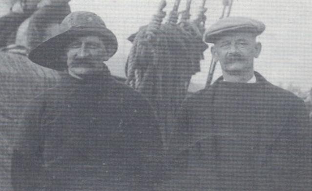 Brøðurnir Sámal og Christian Christiansen.