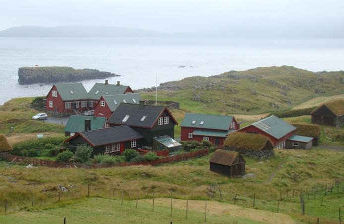2005 varð ætlanin, at løgmaður skuldi búgva í Hoyvík. (Mynd Vagnur)