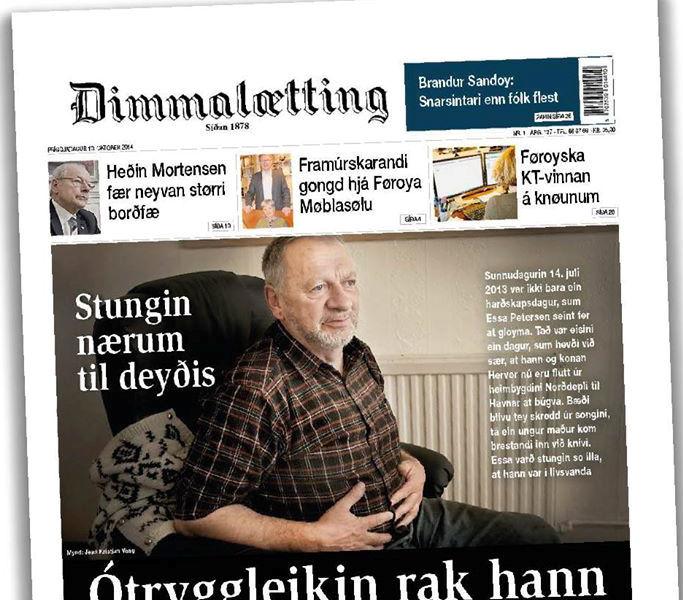 Spennandi at fáa næstu Dimmurnar í hondina.