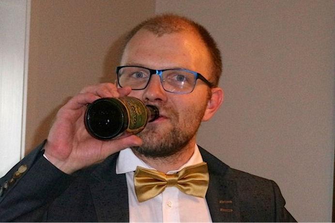 """Jákup Mørk er abbasonur Mortan Mørk """"Gamla Mortan""""."""