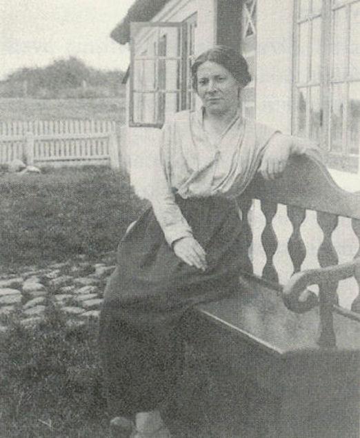Maria Mikkelsen búði í Danmark í fimti ár.