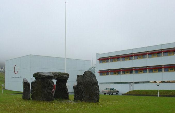 Kringvarp Føroya er annað enn tollmálið. (Mynd Vagnur)