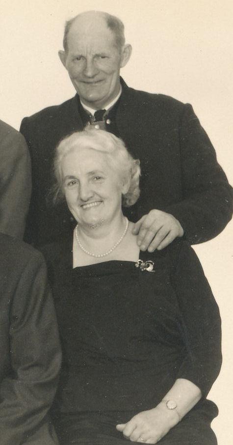 Jón og Sighild Hansen.