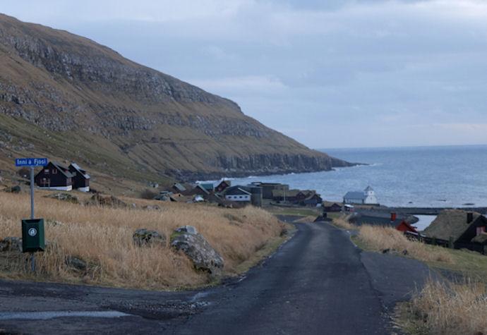 Altíð vakur og nakað serlig at síggja Kirkjubø. (Mynd Vagnur)