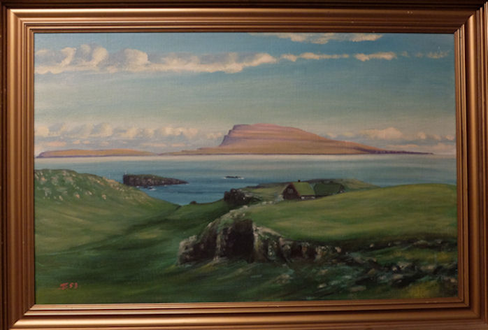 Nógv góð minni uppi við Hoyvíkshólman. (Mynd Vagnur)