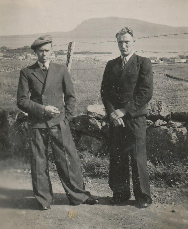Brøðurnir Símun og Karl Johan