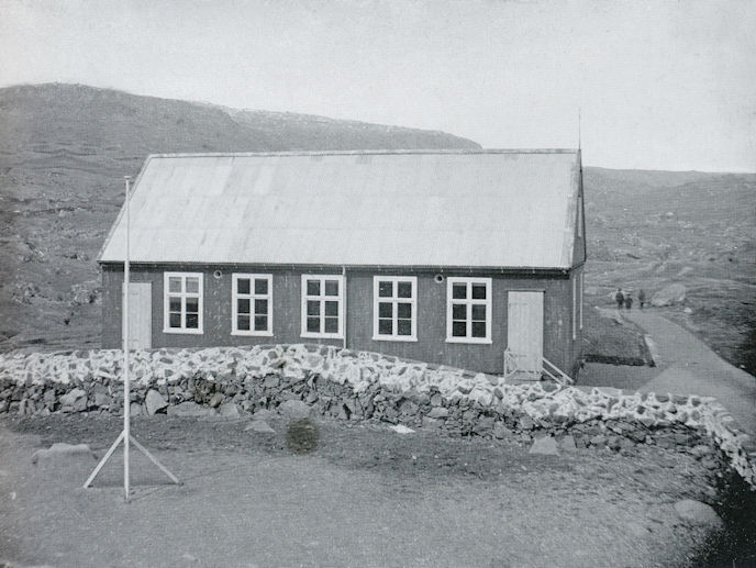 Býráðssalurin er 120 ára gamal. (Mynd Havnin - fólk og yrki)