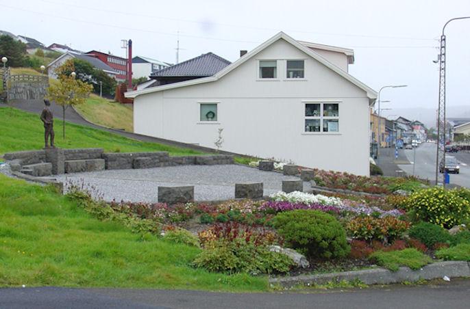 Símun á Høgabóli var giftur Jóhonnu dóttur Jóhan í Hoyvík. (Mynd Vagnur)