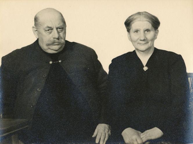 Foreldrini Sámal og Elsba Debess. (Mynd Gulli)